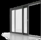Алюминиевый профиль для раздвижных дверей